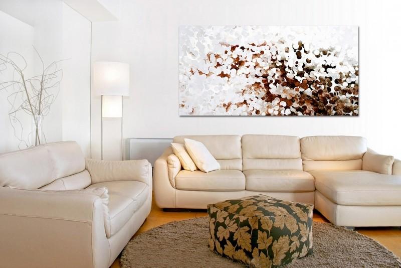 tableau art contemporain comme accent dans l interieur