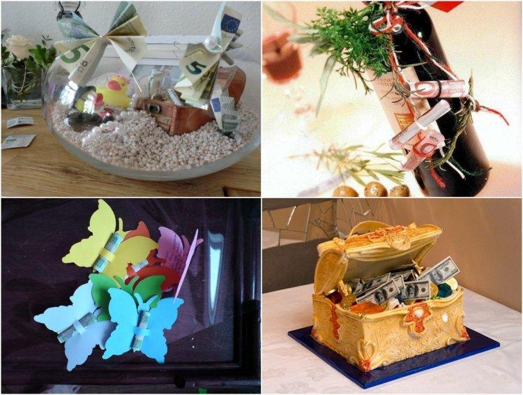 47 ides de cadeaux et dco mariage avec billets de banque