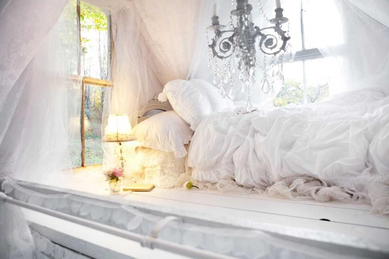 Chambre Bohme Atmosphre Romantique En Blanc