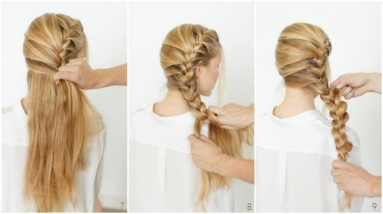 Coiffure facile  faire en 50 ides cheveux longs et milongs