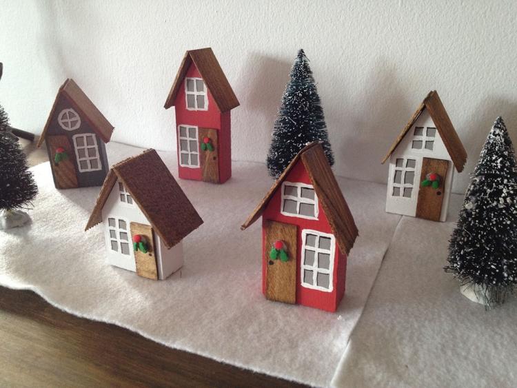 Dcoration Scandinave Et Sapin De Nol En Bois En 55 Ides