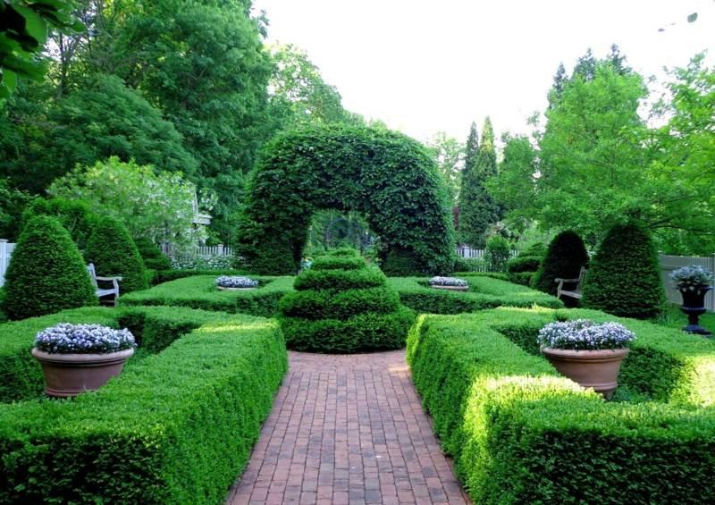 Intgrer avec succs la grande jardinire dans le jardin