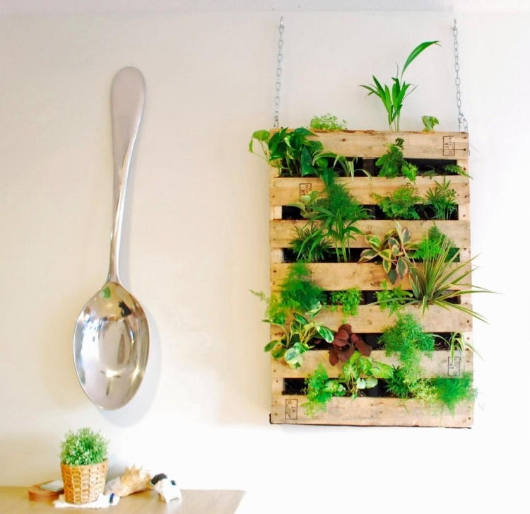 Decoration Mur Vegetal Interieur Idees