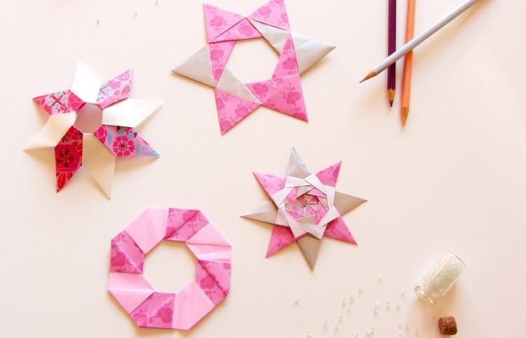 Origami Nol Comment Faire Des Toiles Origami Dcoratives