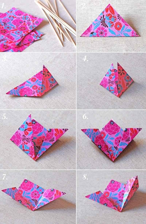 Origami facile  100 animaux fleurs en papier et dco maison