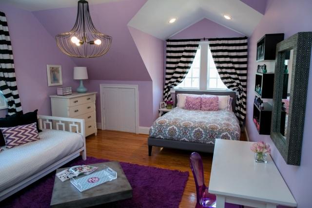 Chambre ado fille en 65 ides de dcoration en couleurs