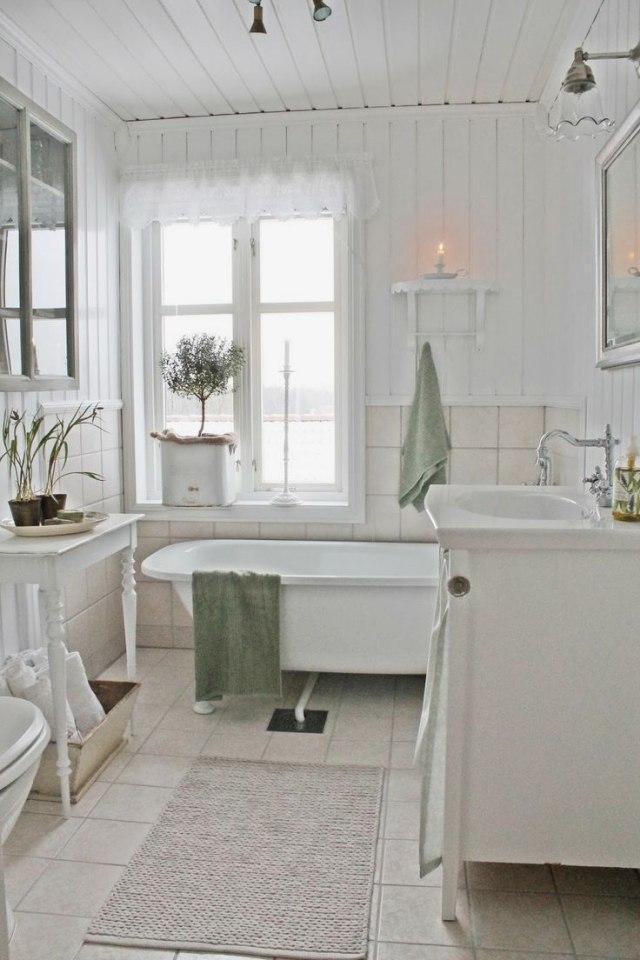 Dco scandinave salle de bains en 32 ides charmantes