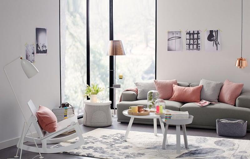 Salon en couleur pastel ides sur la dcoration et le mobilier