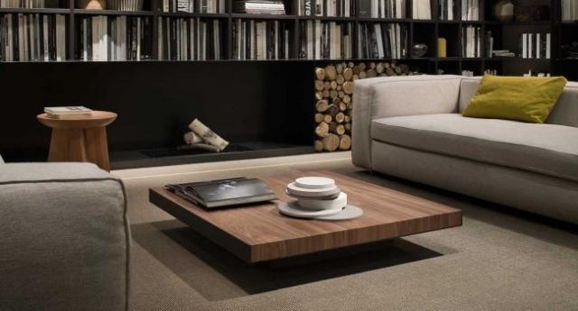 Table basse en bois massif  designs pour un intrieur pur