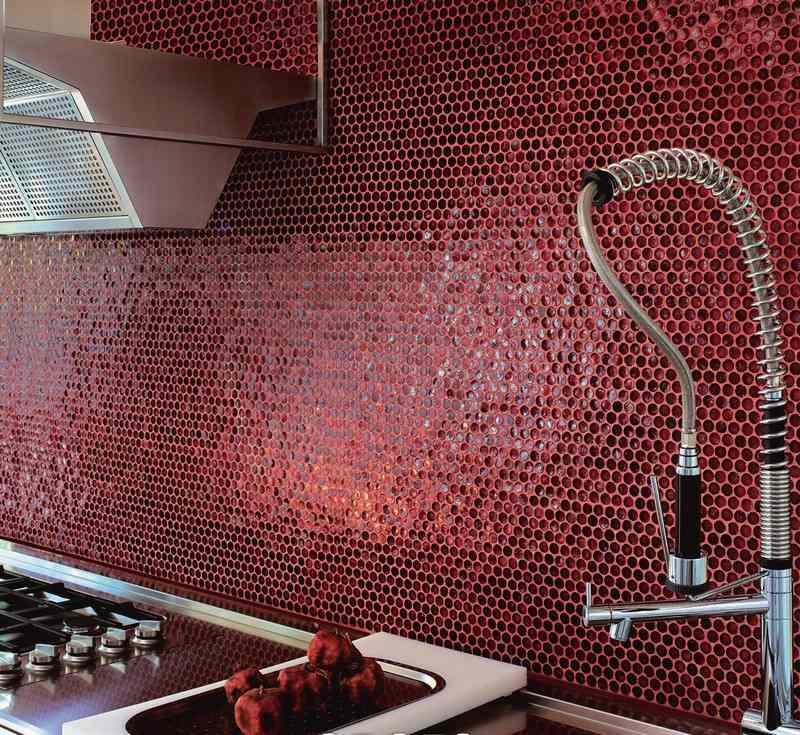 Carrelage mosaque cuisine  ides de crdencedco murale