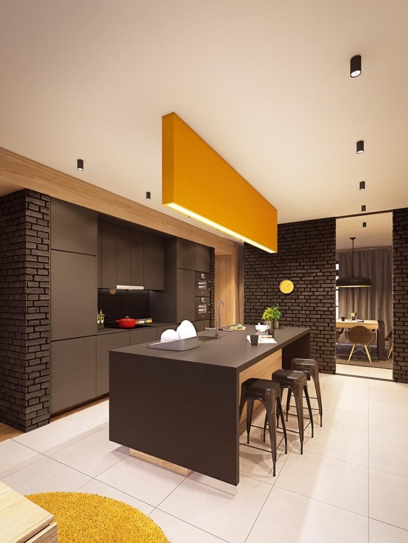 banc de cuisine design