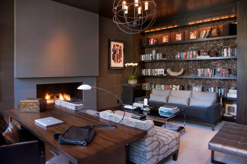Le Brun En Tant Que Dco Salon 50 Inspirations Cool Pour