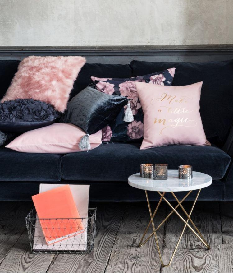 Decoration Salon Gris Et Rose. Simple Stunning Salon Noir Gris Rose ...