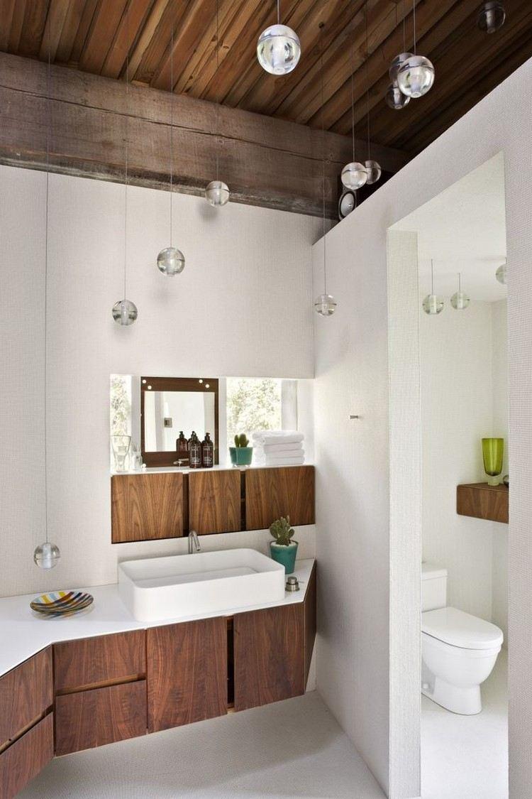 Luminaire salle de bains et amnagement en 53 ides cool