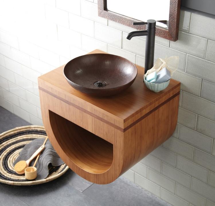 Hauteur Meuble Salle De Bain Pour Vasque A Poser ...