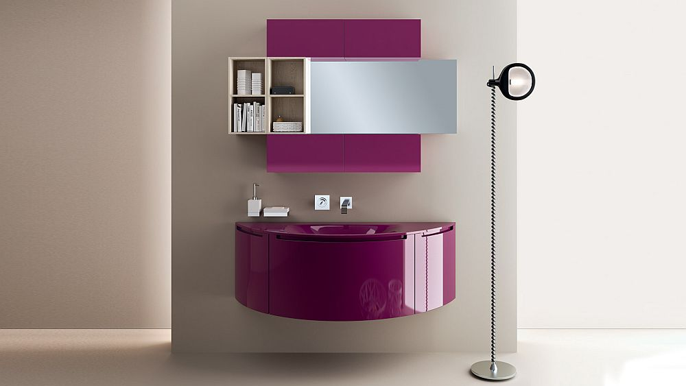 Salle de bain italienne 3 designs exquis par Scavolini