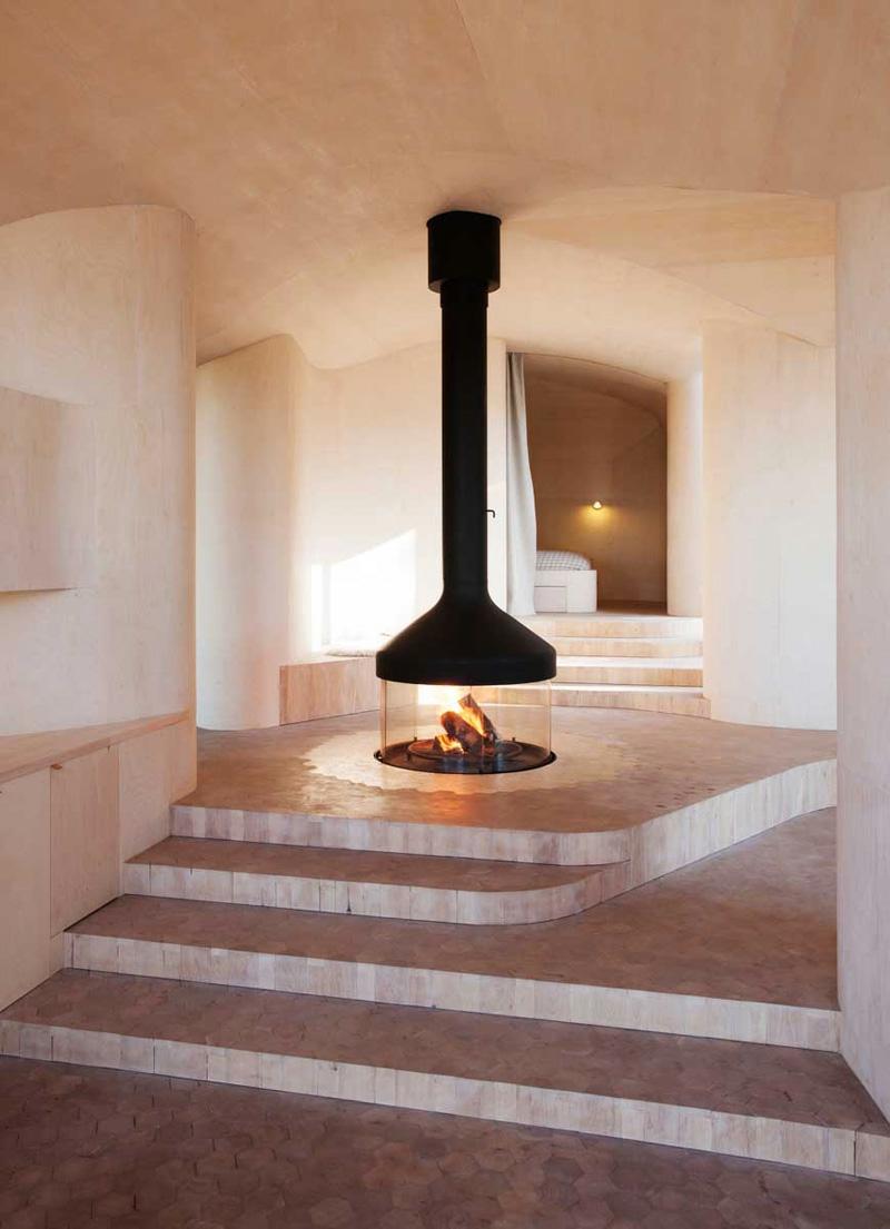 cheminee centrale en 9 idees sublimes
