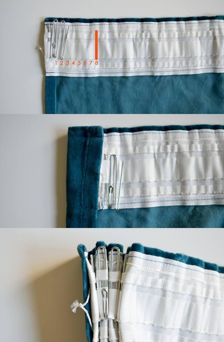 Confection De Rideaux Avec Crochets