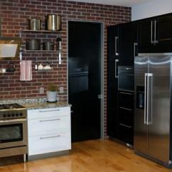Wood Mode Kitchen Cabinets Sears Cuisine Noire Mat Et Blanche- 48 Inspirations