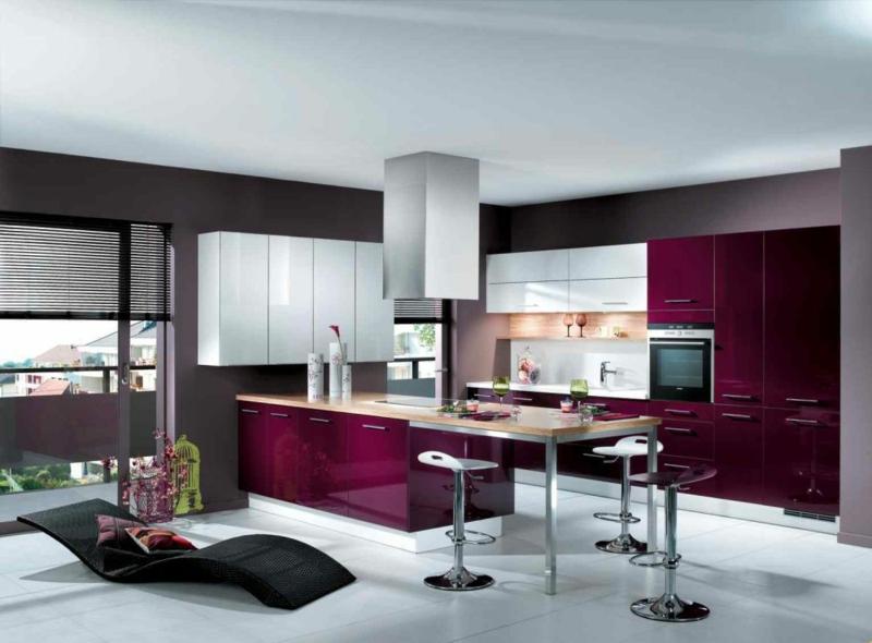 S Design Interieur Cuisine Design Cuisine Rouge Grise Moderne