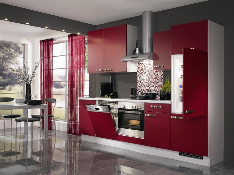 Carrelage Rouge Cuisine. Perfect Carreau De Carrelage With ...