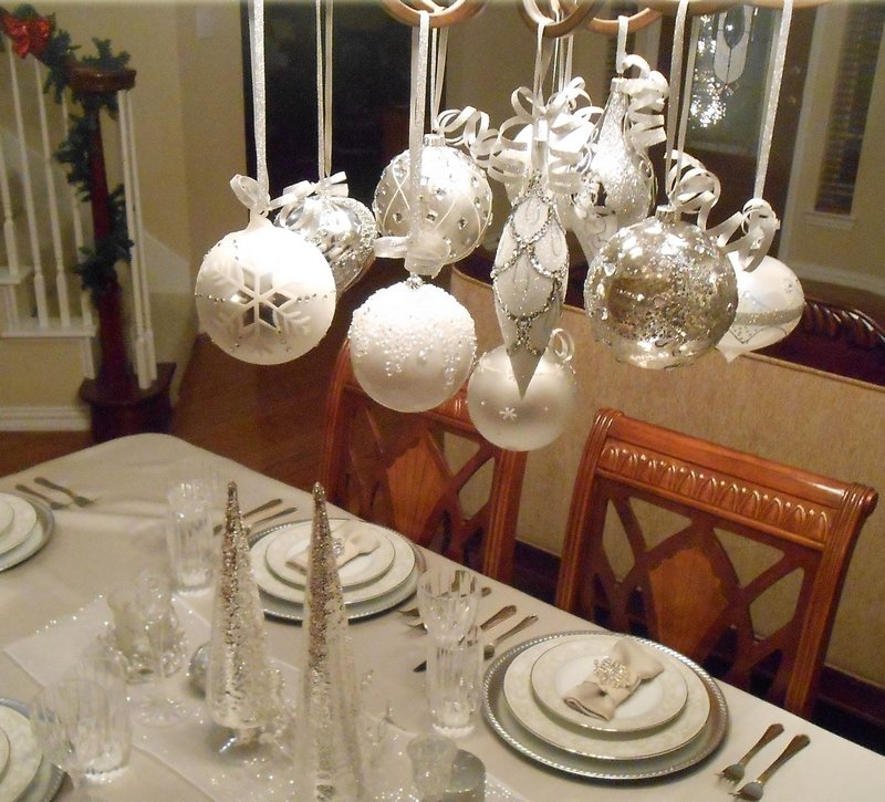 Dco Table Nol Argent Le Glamour Chic La Table Festive