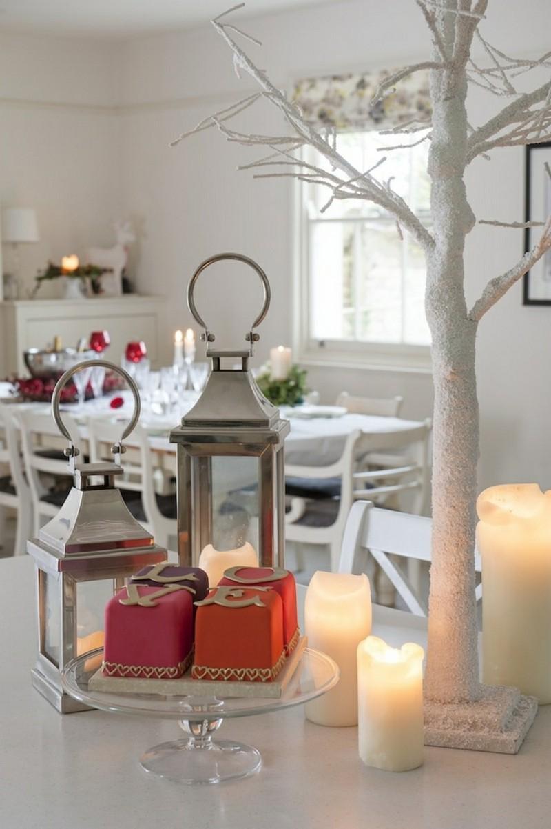 Dco Table Nol Rouge Et Blanc 50 Ides Qui Unifient Le