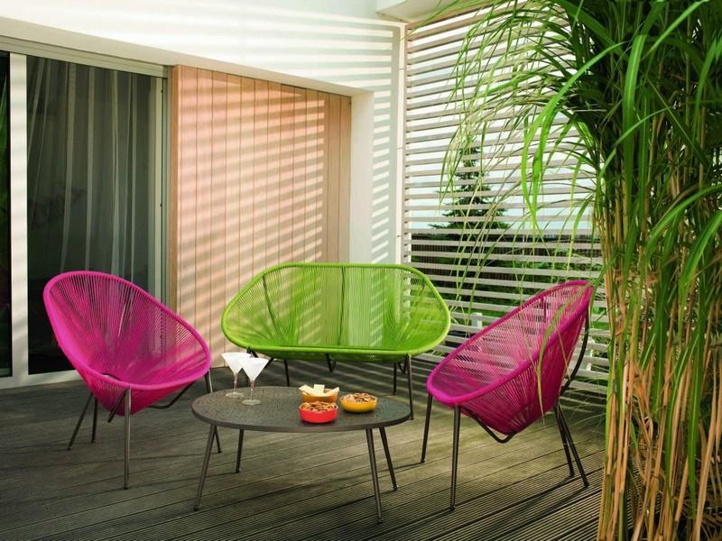 mobilier balcon compact 50 idees pour