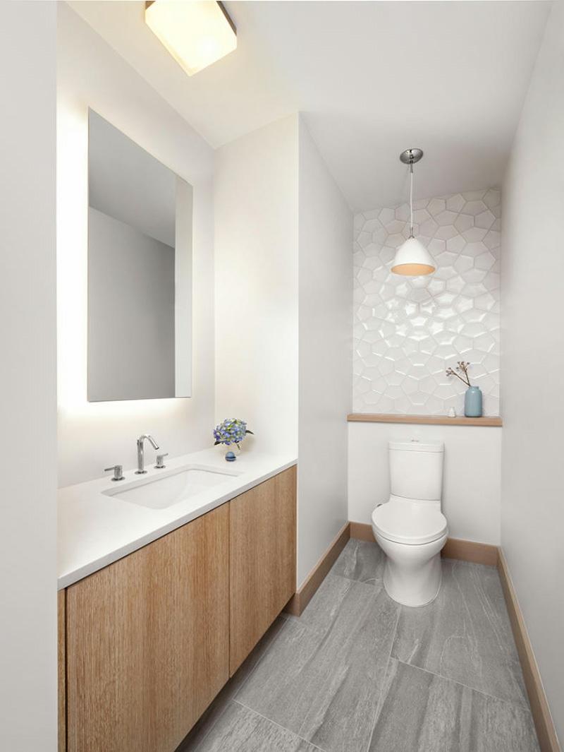 Carrelage Gris Meuble Bois salle de bain carrelage gris meuble blanc | venus et judes
