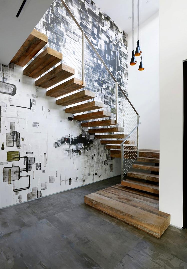 Deco Montee Escalier. Simple Univers Dco Entre Cage Descalier With ...