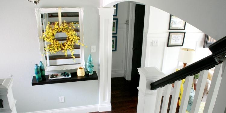 R Novation Escalier Et Id Es De D Coration Photos Supers Peinture Entree Maison