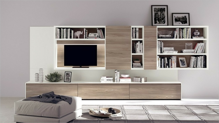 rangement salon moderne 35 idees top