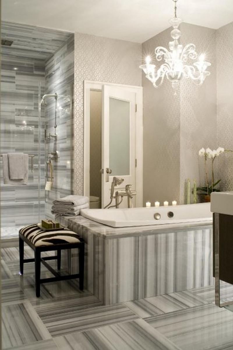 Salle de bain rtro  carrelage meubles et dco en 55 photos