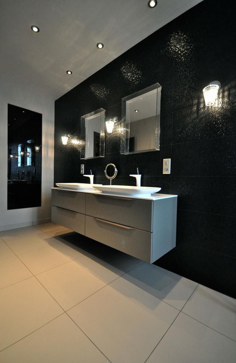 Faience Salle De Bain Noir Et Blanc. Simple Finest Carrelage Salle ...