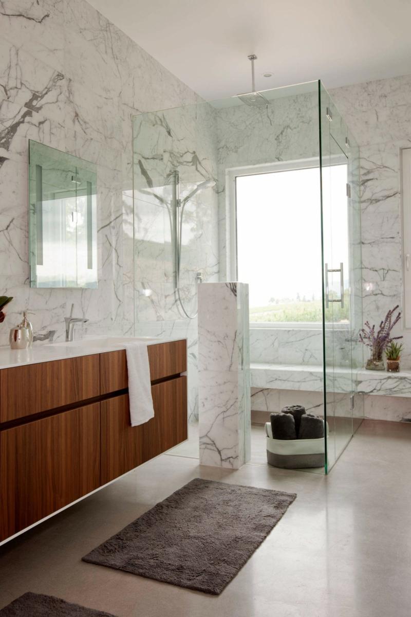 Sol Bton Cir Et Intrieur Blanc Dans Une Maison Design Super