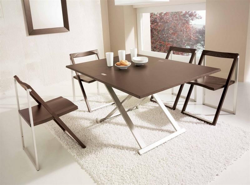 table gain de place pliante rabattable