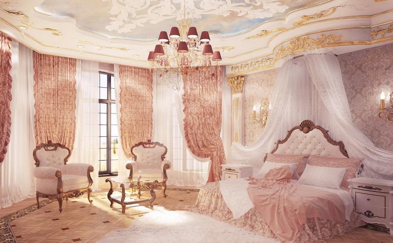 S Design Interieur Chambre A Coucher Chambre Style Baroque Chic