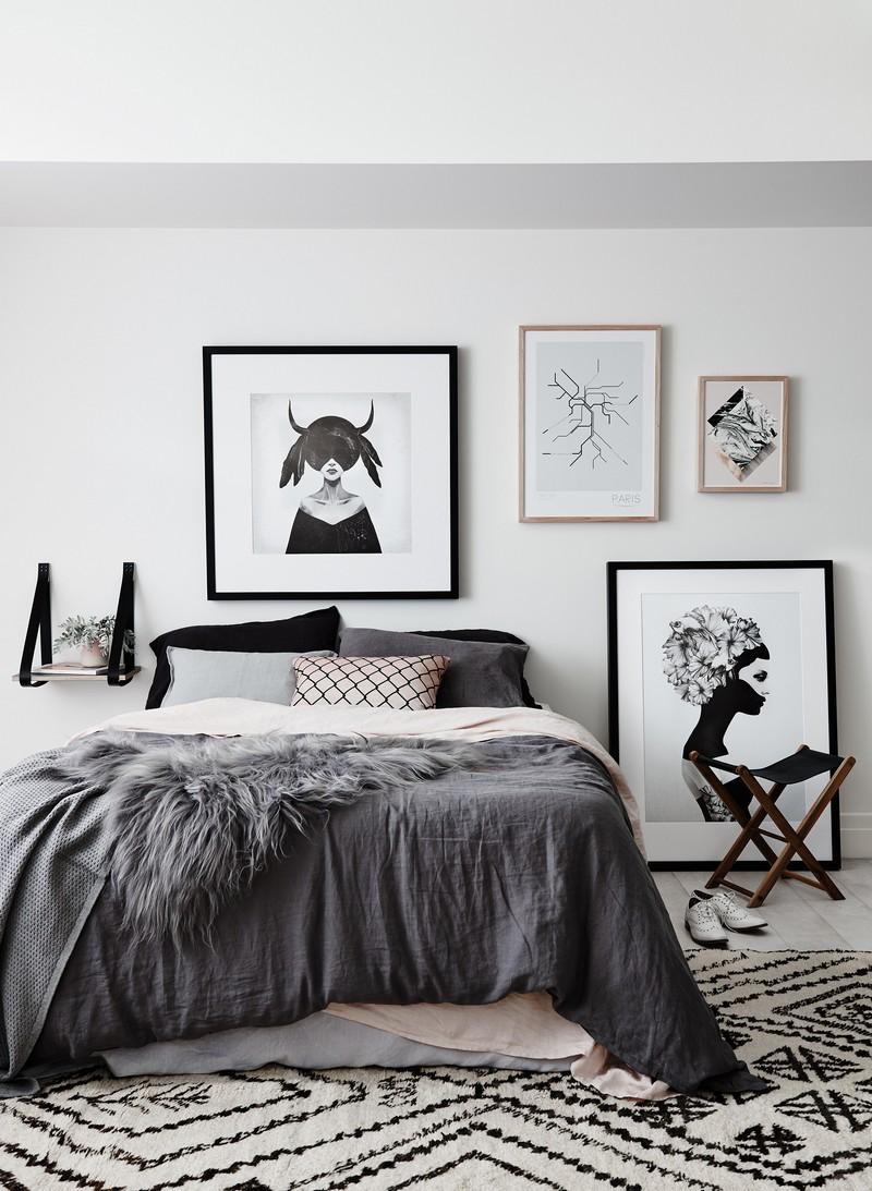 Chambre taupe pour un dcor romantique et lgant