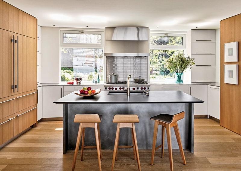 Design Interieur Cuisine Design Cuisine Gris Bois Modeles