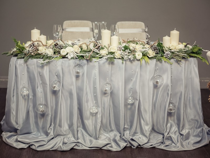 Idees Mariage Deco Mariage Hiver Feerie Hivernale