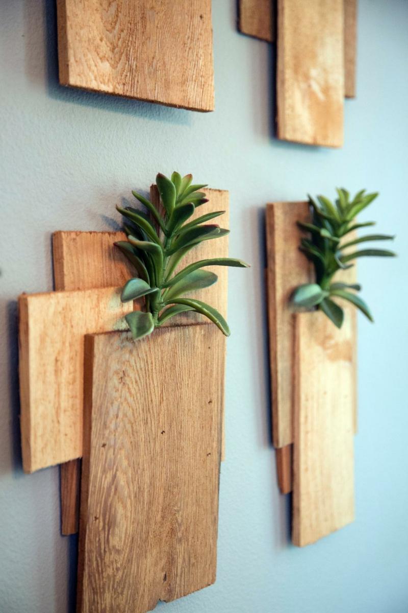 Dcoration murale bois  faire soimme  20 ides cratives