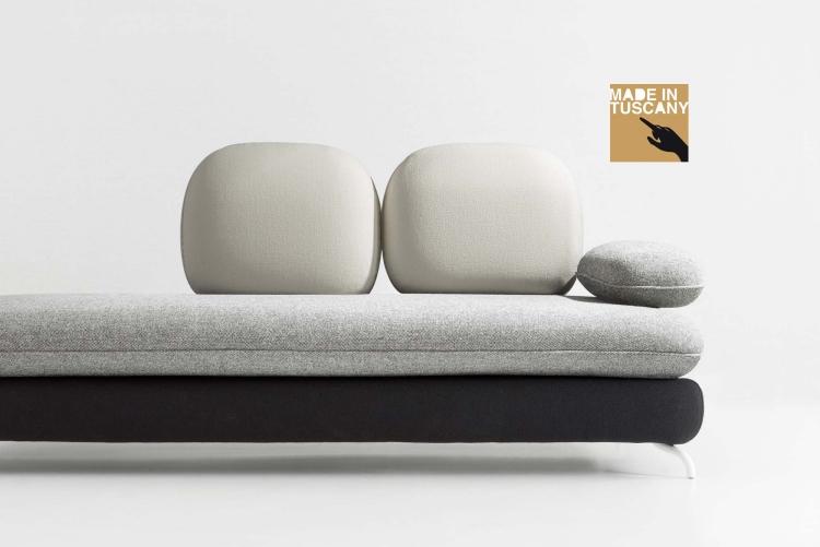 canape design italien - boisholz - Reedition Meubles Design