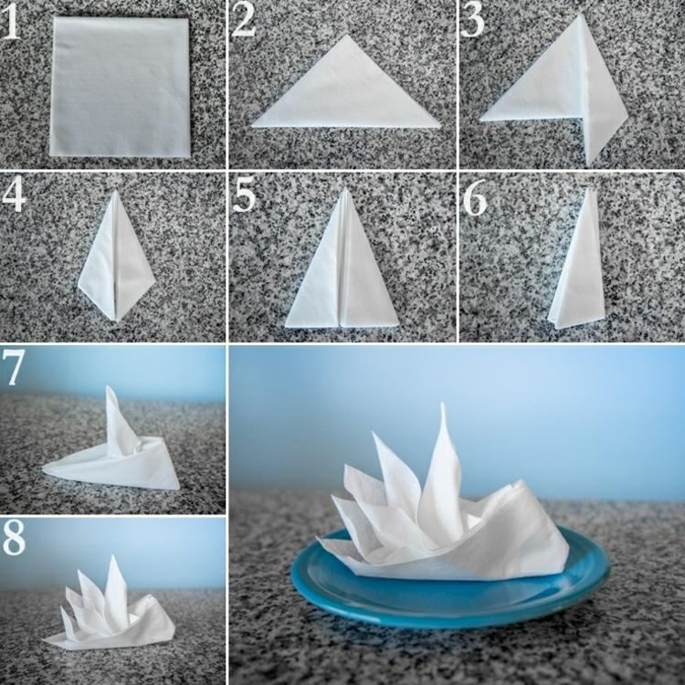 Pliage De Serviettes En Papier Pour Nimporte Quelle Occasion