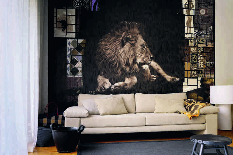 Poster mural thme Afrique pour un caractre sauvage unique