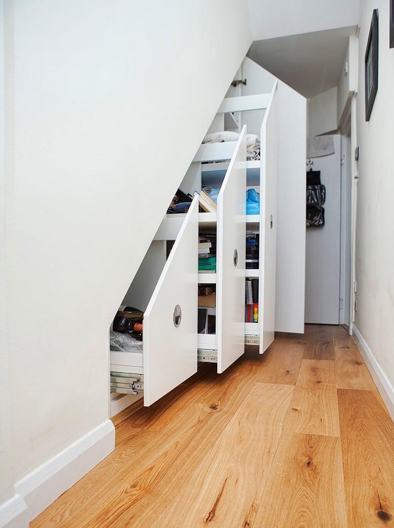 Rangement Sous Escalier Et Idées Daménagement Alternatif