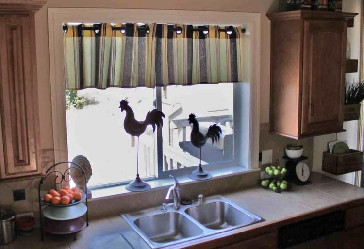 Rideaux Cuisine Originaux | Le Miroir Fenêtre En 53 Photos ...