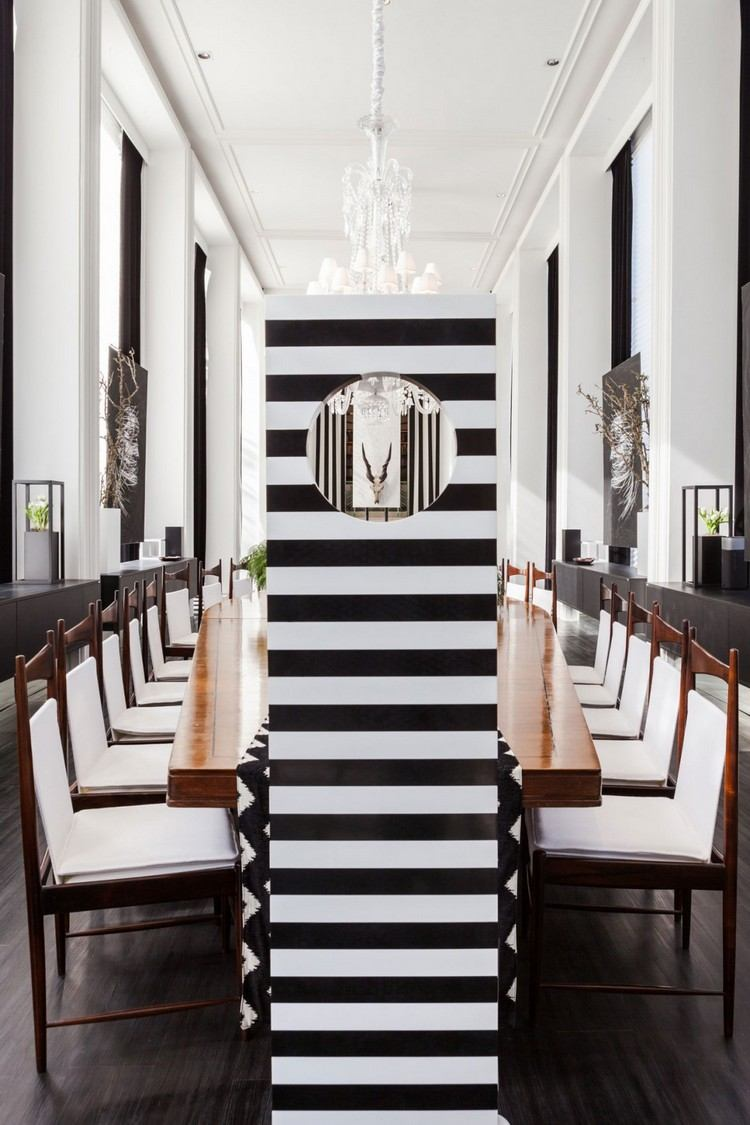 Salon Deco Noir Et Blanc. Gallery Of Best Deco Salon Ideas On ...