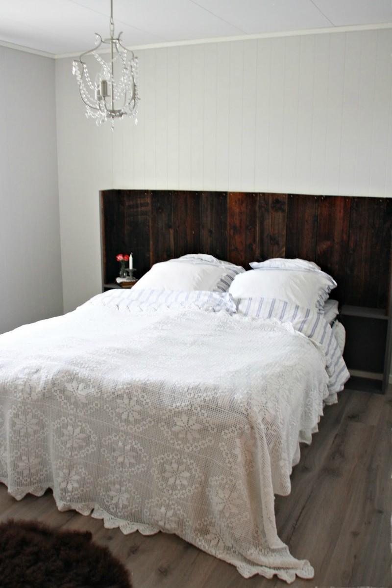 Tte de lit design et tte de lit faite maison 42 ides originales