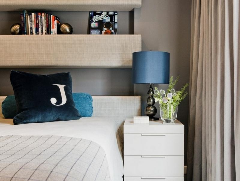 Tte de lit avec rangement en 57 des pour ranger et dcorer