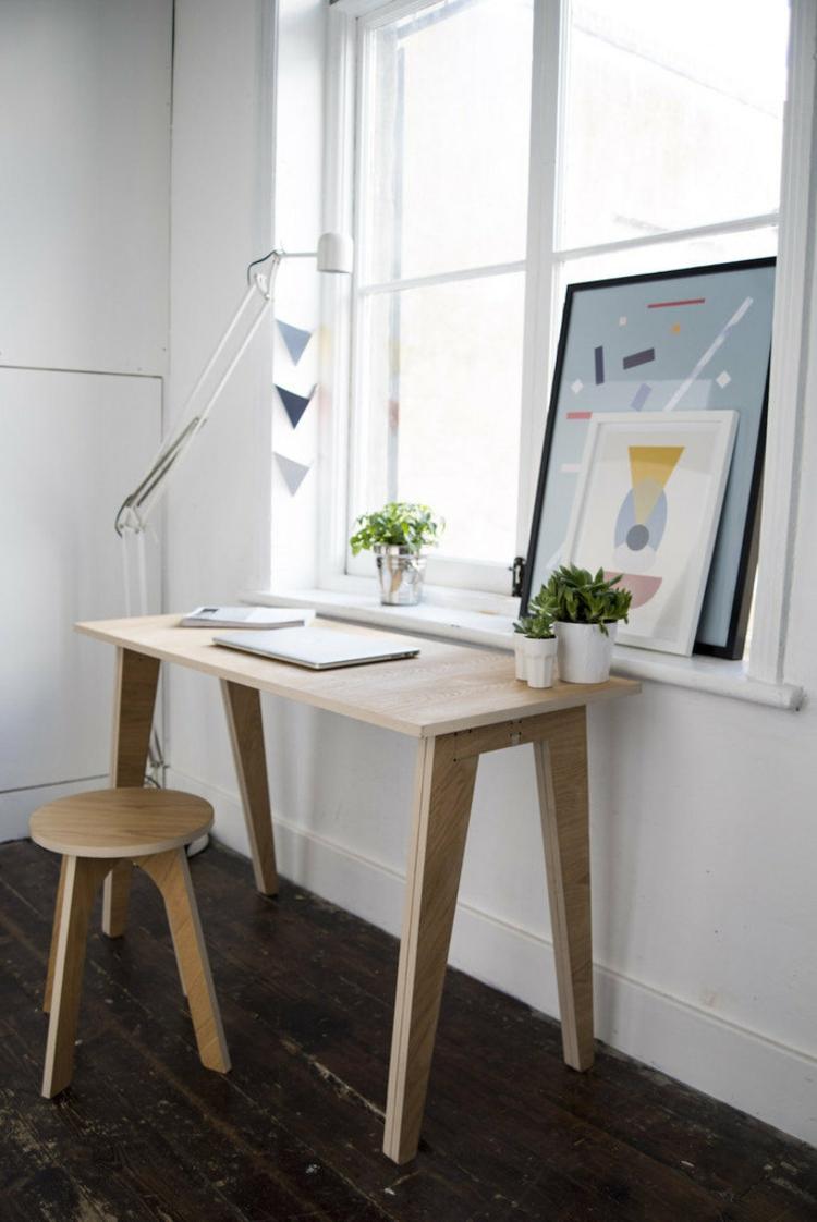 Table Bureau Moderne Et Peu Encombrante 45 Super Modles